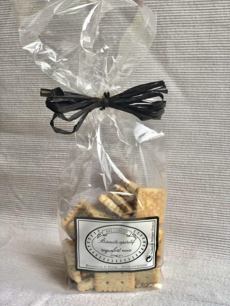 Biscuit roquefort noix - Accueil